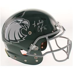 Randall Cunningham Signed Philadelphia Eagles Full-Size Authentic On-Field Helmet (Beckett COA)