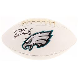 Donovan McNabb Signed Philadelphia Eagles Logo Football (Beckett COA)
