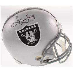 Howie Long Signed Oakland Raiders Full-Size Helmet (JSA Hologram)