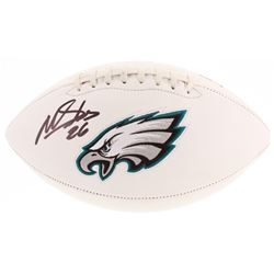 Miles Sanders Signed Philadelphia Eagles Logo Football (Beckett COA)