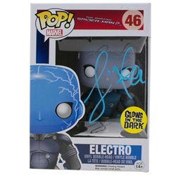 "Jamie Foxx Signed ""The Amazing Spider-Man 2"" #46 Electro Funko Pop! Vinyl Figure (JSA COA)"