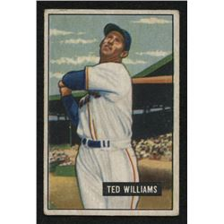 1951 Bowman #165 Ted Williams