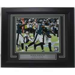Derek Barnett Philadelphia Eagles Super Bowl LII 11x14 Custom Framed Photo Display