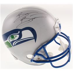 Brian Bosworth Signed Seattle Seahawks Full-Size Helmet (JSA COA)