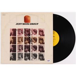 "Jeff Beck Signed ""Jeff Beck Group"" Vinyl Album Cover (PSA COA)"