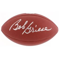 Bob Griese Signed NFL Football (Schwartz COA)