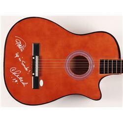 "Cheech  Chong Signed 38"" Acoustic Guitar Inscribed ""Up in Smoke!""  ""19"" (JSA COA)"