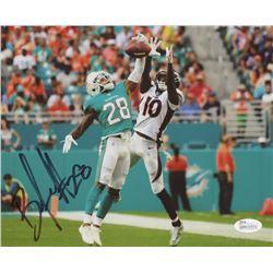 Bobby McCain Signed Miami Dolphins 8x10 Photo (JSA COA)