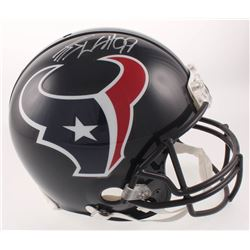 J.J. Watt Signed Houston Texans Full-Size Authentic On-Field Helmet (JSA COA  Watt Hologram)