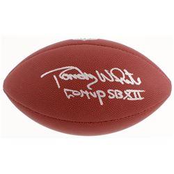 "Randy White Signed NFL Football Inscribed ""Co-MVP SB XII"" (Schwartz COA)"