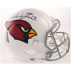 David Johnson Signed Arizona Cardinals Full-Size Authentic On-Field Speed Helmet (Beckett COA)