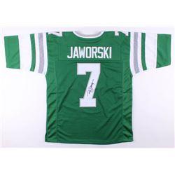 Ron Jaworski Signed Jersey (JSA COA)