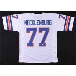 Karl Mecklenburg Signed Jersey (JSA COA)