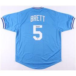 George Brett Signed Jersey (Beckett COA)