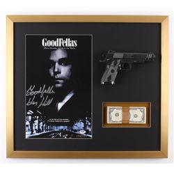"""Henry Hill Signed LE """"Goodfellas"""" 23x26 Custom Framed Photo Display Inscribed """"Goodfella"""" with Repli"""