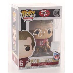 Joe Montana Signed San Francisco 49ers #84 Funko Pop! Vinyl Figure (Schwartz COA)