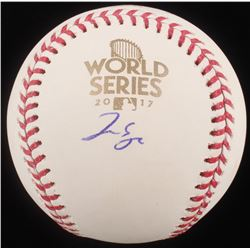 George Springer Signed 2017 World Series Baseball (Radtke COA)