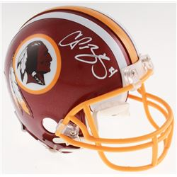 Champ Bailey Signed Washington Redskins Mini Helmet (Beckett COA)