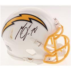 Melvin Gordon Signed Los Angeles Chargers Speed Mini Helmet (Beckett COA)