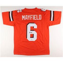 Baker Mayfield Signed Jersey (Beckett COA)