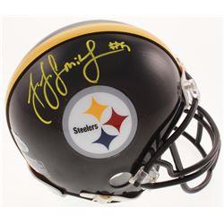 JuJu Smith-Schuster Signed Pittsburgh Steelers Mini Helmet (Beckett COA)