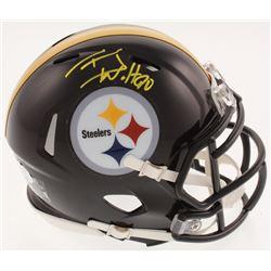 T.J. Watt Signed Pittsburgh Steelers Speed Mini Helmet (JSA COA)