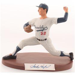 Sandy Koufax Signed LE Brooklyn Dodgers Salvino High Quality Figurine (Sports Legends Hologram)