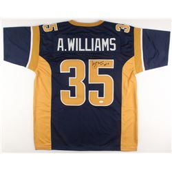 "Aeneas Williams Signed Jersey Inscribed ""HOF 14"" (JSA COA)"