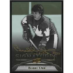 2012 Upper Deck All-Time Greats Signatures #GABO3 Bobby Orr #30/45