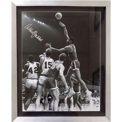 Kareem Abdul-Jabbar Signed Milwaukee Bucks 20x24 Custom Framed Photo Display (PSA COA  Online Authen