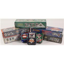 Lot of (9) 1989-1993 Upper Deck Baseball Card Sets