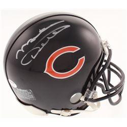 Mike Ditka Signed Chicago Bears Mini Helmet (Schwartz COA)