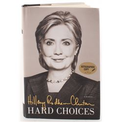 "Hillary Clinton Signed ""Hard Choices"" Hardcover Book (PSA COA)"