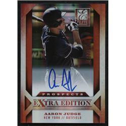 2013 Elite Extra Edition #122 Aaron Judge RC Autograph #407/599