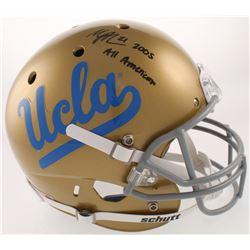 "Maurice Jones-Drew Signed UCLA Bruins Full-Size Helmet Inscribed ""2005 All American"" (Radtke COA)"