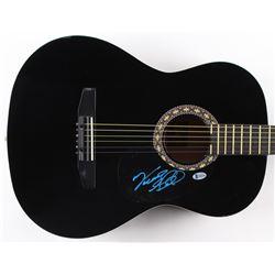 "Vince Gill Signed 38"" Rogue Acoustic Guitar (Beckett COA)"