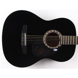 """Hank Williams Jr. Signed 38"""" Rogue Acoustic Guitar (Beckett COA)"""