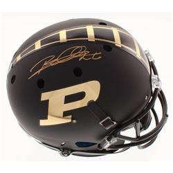 Rod Woodson Signed Purdue Boilermakers Full-Size Matte Black Helmet (Schwartz COA)