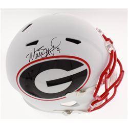 Matthew Stafford Signed Georgia Bulldogs Full-Size AMP Alternate Speed Helmet (Fanatics Hologram)