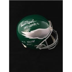 "Vince Papale Signed Philadelphia Eagles Full-Size Helmet Inscribed ""Fly Eagles Fly!"" (JSA COA)"