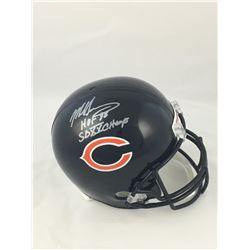 "Mike Singletary Signed Chicago Bears Full-Size Helmet Inscribed ""HOF 88""  ""SB XX Champs"" (JSA COA)"