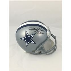 "Randy White Signed Dallas Cowboys Full-Size Helmet Inscribed ""HOF 94"" (JSA COA)"