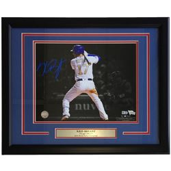 Kris Bryant Signed Chicago Cubs 16x20 Custom Framed Photo Display (MLB Hologram  Fanatics Hologram)