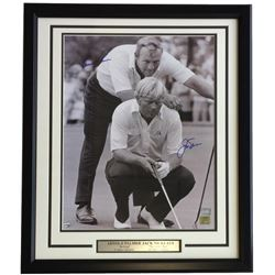 Arnold Palmer  Jack Nicklaus Signed 22x27 Custom Framed Photo Display (Fanatics Hologram)