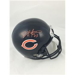 Devin Hester Signed Chicago Bears Full-Size Helmet (JSA COA)