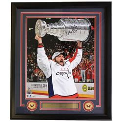 Alexander Ovechkin Signed Washington Capitals 22x29 Custom Framed Photo Display (Fanatics Hologram)