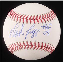 """Wade Boggs Signed OML Baseball Inscribed """"HOF 05"""" (Schwartz Hologram)"""