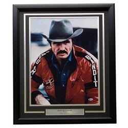 "Burt Reynolds Signed ""Smokey  The Bandit"" 22x27 Custom Framed Photo Display (Beckett COA)"