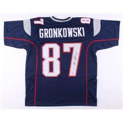 Rob Gronkowski Signed Jersey (PSA COA)
