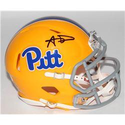Aaron Donald Signed Pittsburgh Panthers Speed Mini Helmet (JSA COA)